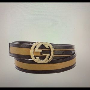 Gucci GG leather Belt!
